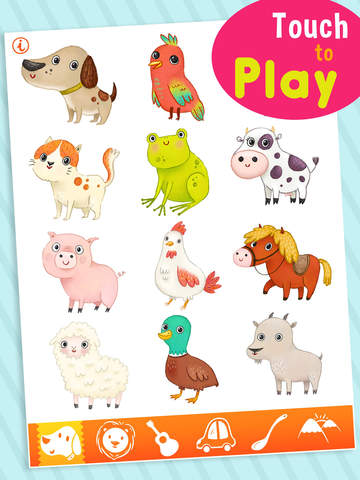 Toddler Sound 123 - Flashcards screenshot 6