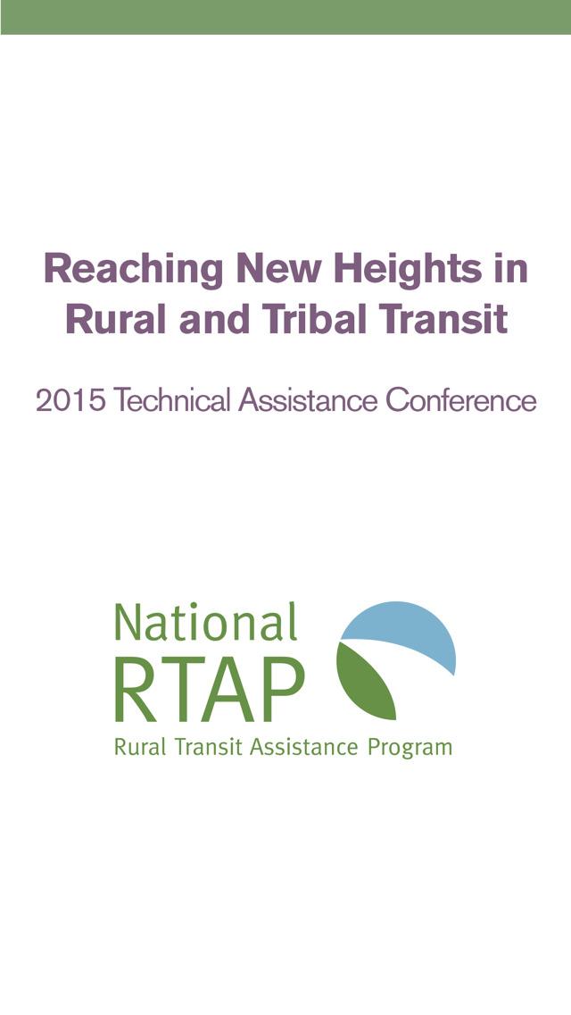 National RTAP Conference 2015 screenshot 1