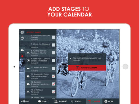 Cycling Tour App - La Vuelta 2015 edition Pro screenshot 9