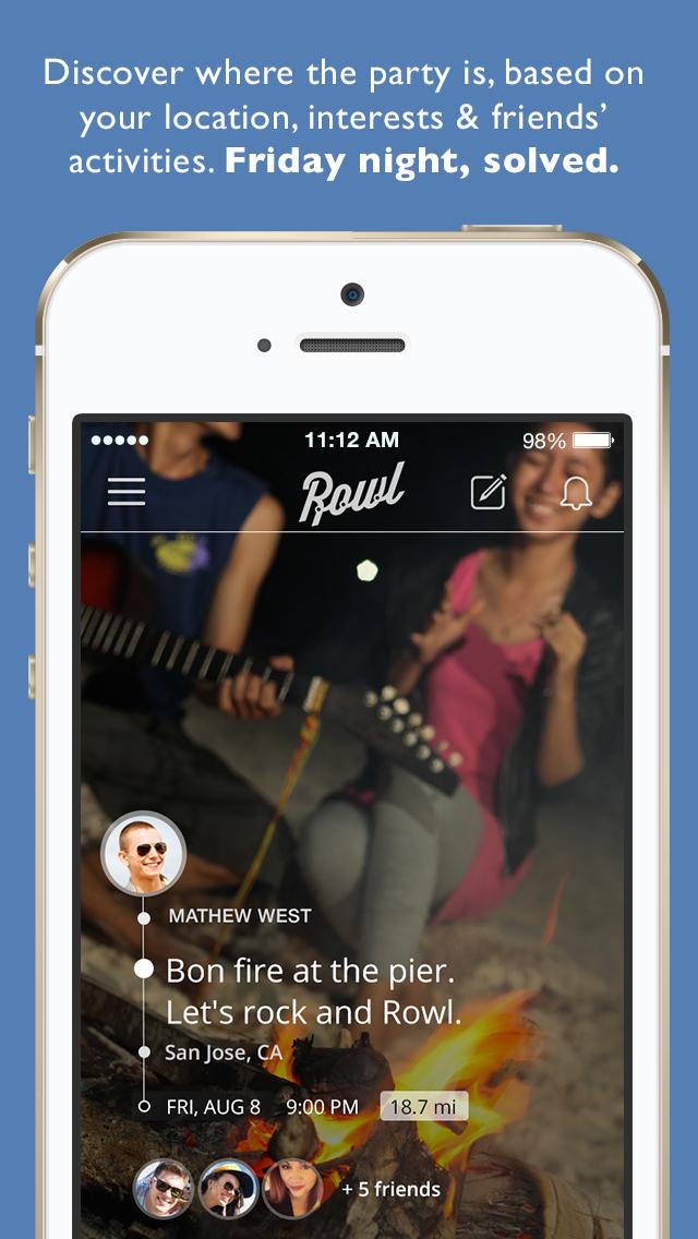 Rowl screenshot 1