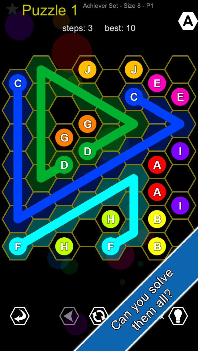 Hexic Link - Logic Puzzle Game screenshot 4