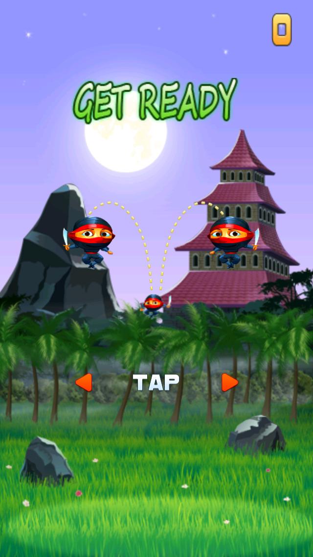 Ninja Air Jump screenshot 1