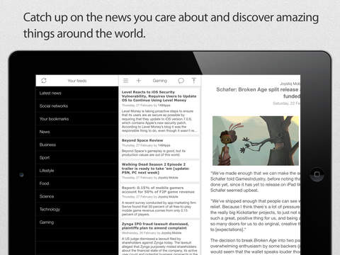Good News - Fast, Clean and Simple RSS Reader screenshot 10