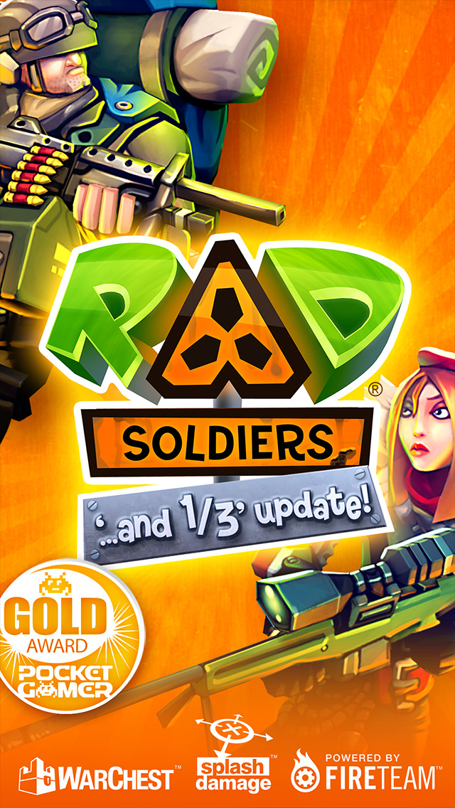 RAD Soldiers screenshot 1