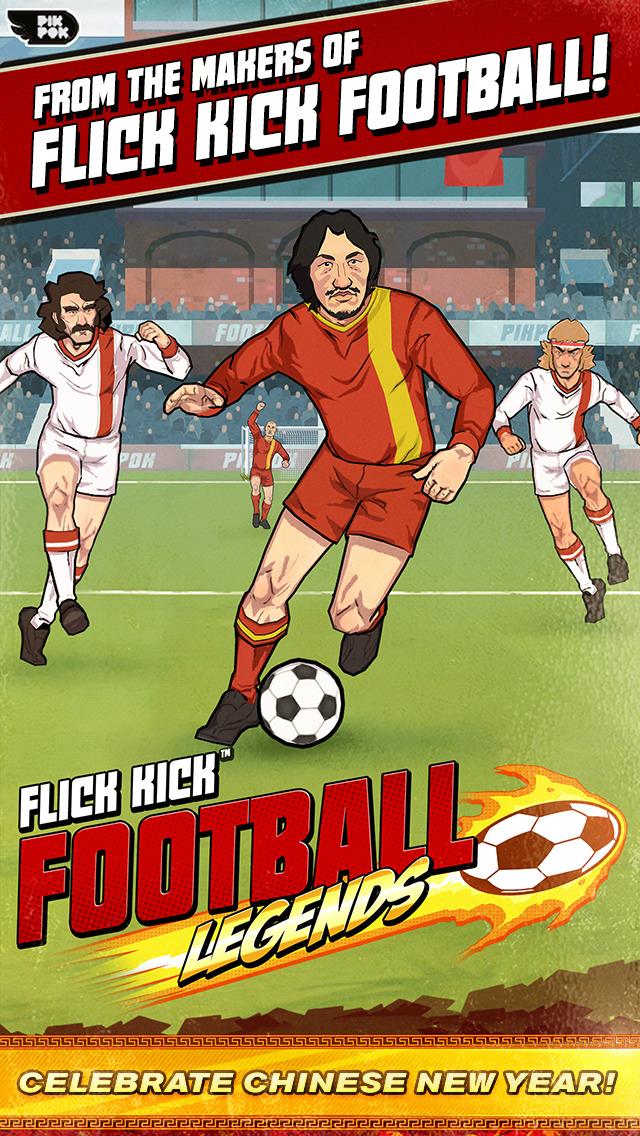 Flick Kick Football Legends screenshot 1