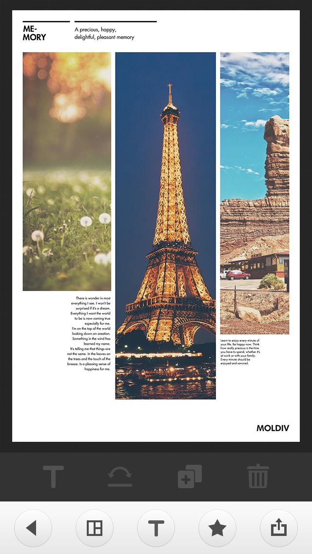 MOLDIV - Photo Editor, Collage screenshot 3