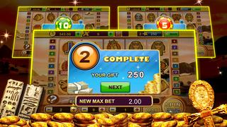 A Pharaoh's Gold Las Vegas Progressive Casino Slots screenshot 4