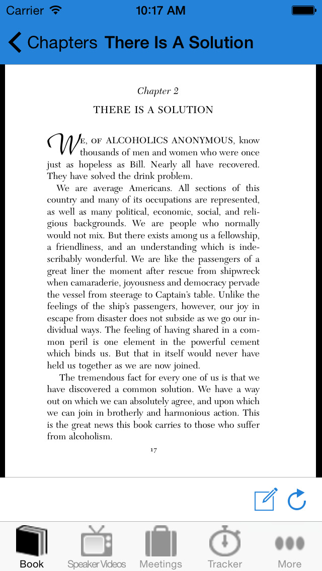 12 Steps & Big Book for Alcoholics Anonymous Companion screenshot 3