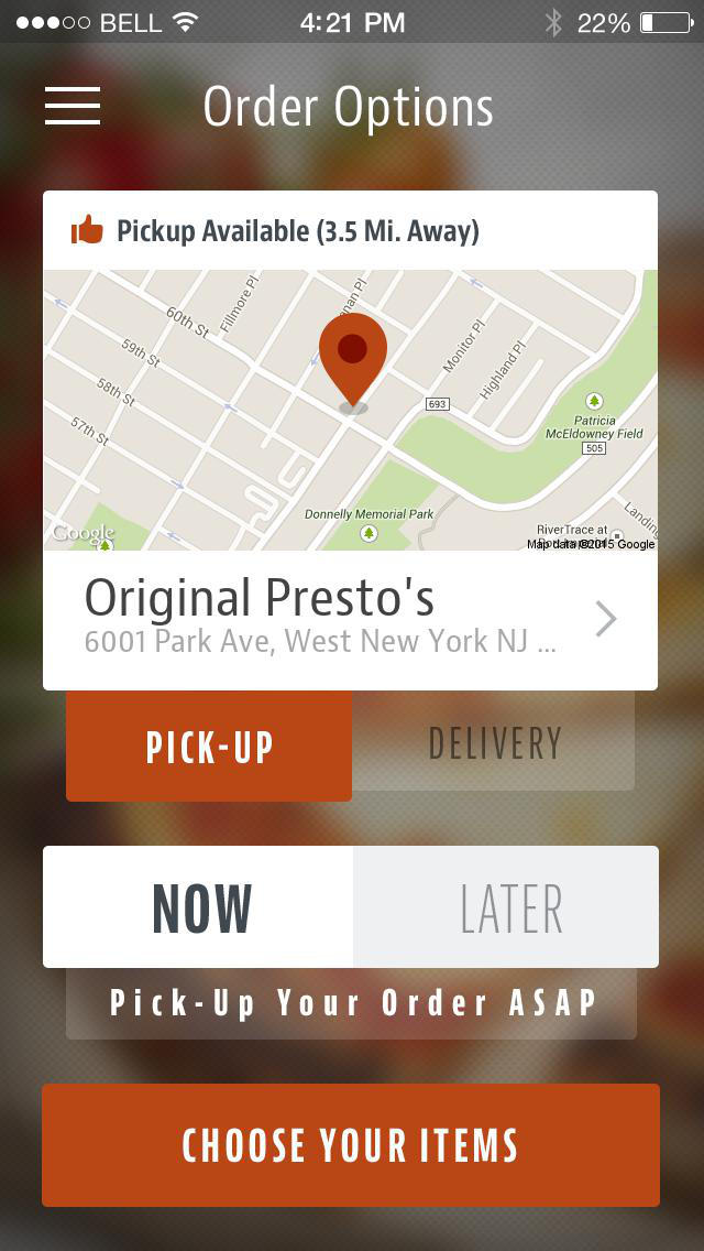 Original Presto's screenshot 2