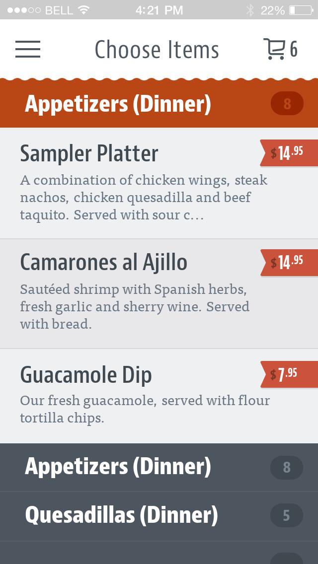 El Tio Tex-Mex Grill screenshot 3