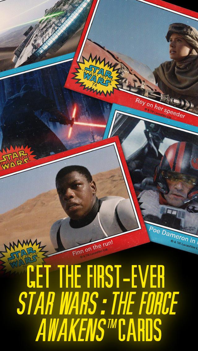 Star Wars Card Trader by Topps screenshot 1