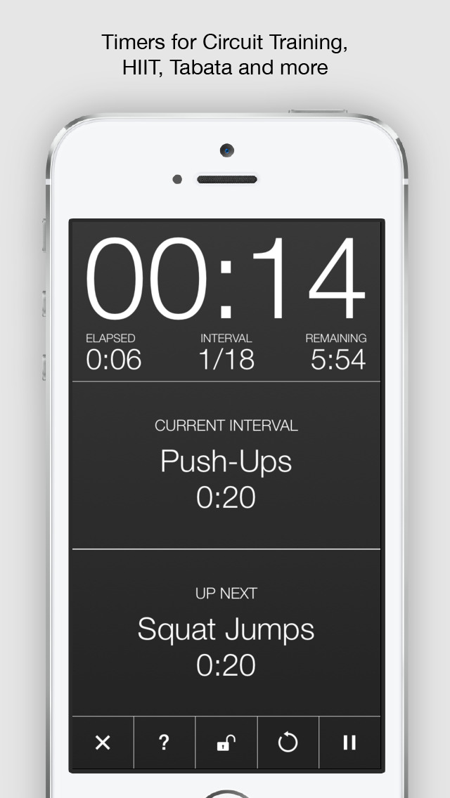 Seconds Pro - Interval Timer screenshot 2
