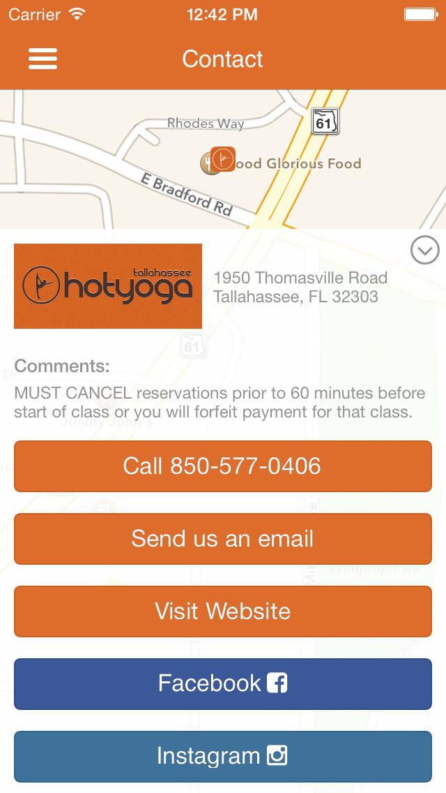 Hot Yoga Tallahassee screenshot #5