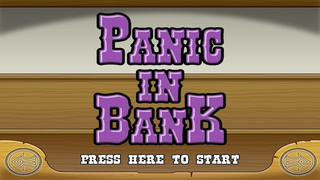 Panic In Bank FREE screenshot 1