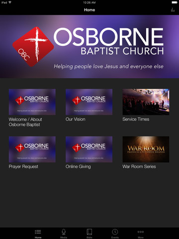 Osborne Baptist Church screenshot 4