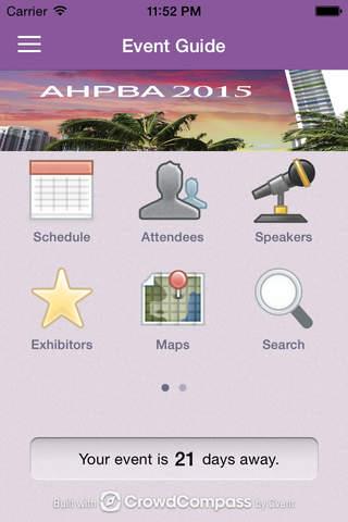 AHPBA - náhled
