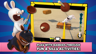 Rabbids Appisodes: The Interactive TV Show screenshot 3