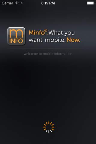Minfo - náhled