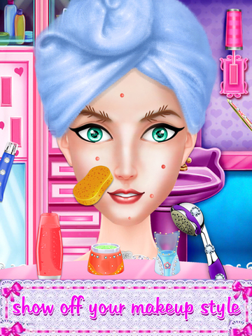 Prom Party Doll Makeover screenshot 10