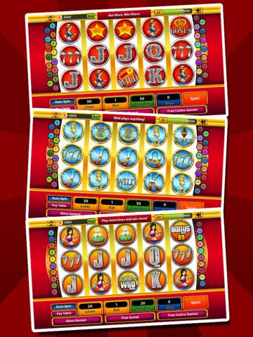 `Ace Win Royal Gold Poker Casino Coin Jackpot Slots - Slot Machine with Blackjack, Solitaire, Roulette, Bonus Prize Wheel screenshot 10