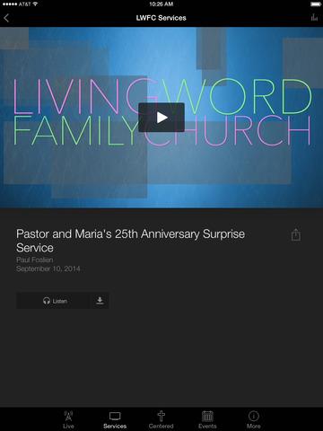 Living Word Family Church screenshot 6