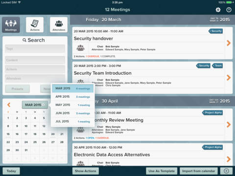 for Meetings screenshot 4