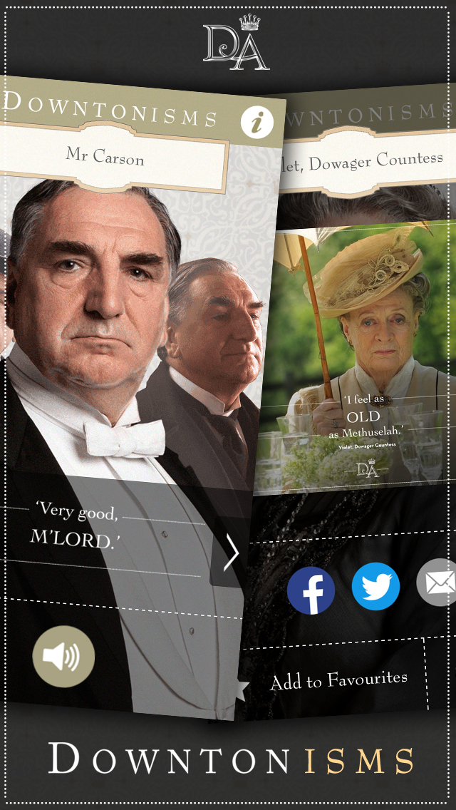 Downtonisms screenshot 4
