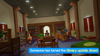 Zac and Zoey - The Library Vandal (Premium) screenshot 2
