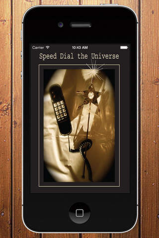 Speed Dial the Universe - náhled