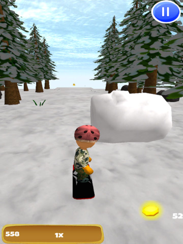 A Freestyle Snowboarder: Extreme 3D Snowboarding Game - FREE Edition screenshot 7