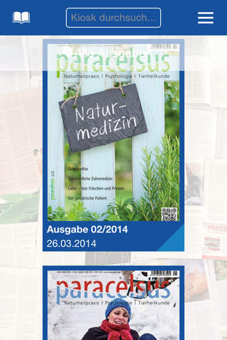 Paracelsus Magazin - náhled
