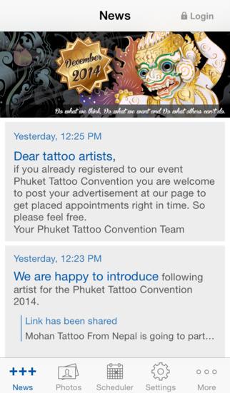 Phuket Tattoo Convention screenshot 1