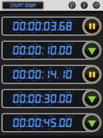 Stopwatch & Timer: Pro Multiple Count Down/Up screenshot #3