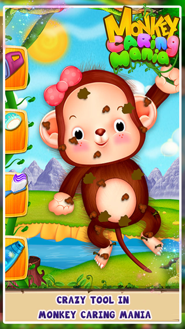 Monkey Caring Mania screenshot 2