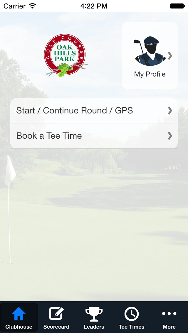 Oak Hills Park Golf Course screenshot 2