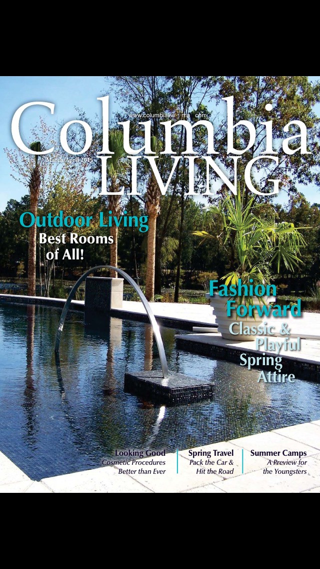 Columbia Living Magazine screenshot 1