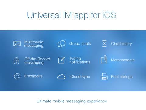 IM+ Instant Messenger screenshot 7