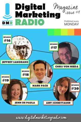 Digital Marketing Radio Magazine App - internet ma - náhled
