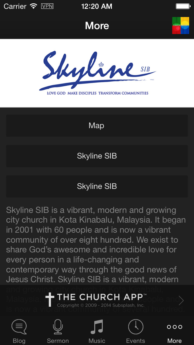 Skyline SIB screenshot 3