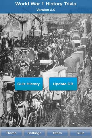 World War 1 History Trivia - náhled