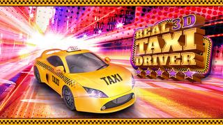 Real Taxi Driver 3D: Crazy Cab City Rush - Free Car Racing Games screenshot 1