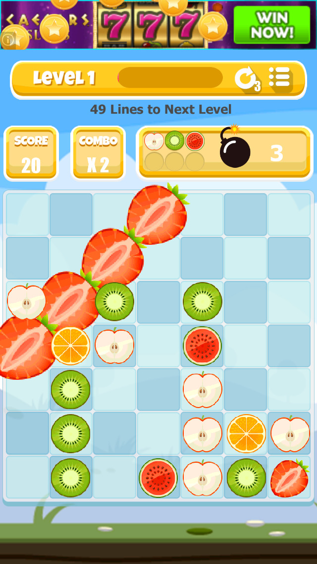 A Fruit Stand: Match 4 Game screenshot 5