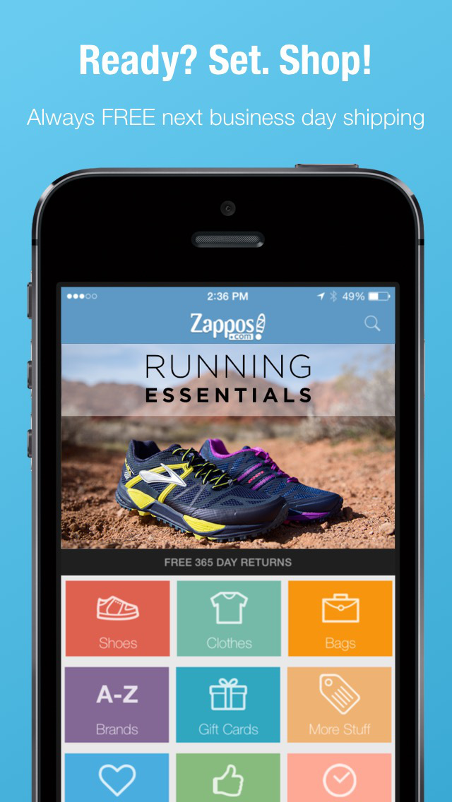 Zappos: Shop shoes & clothes screenshot 2