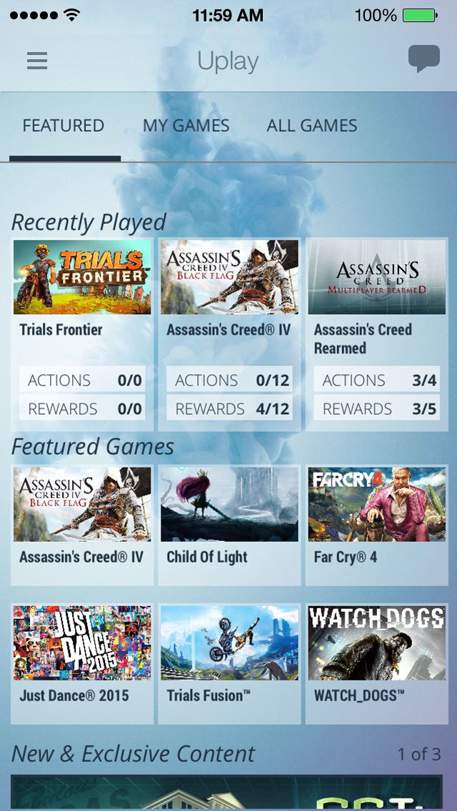 Ubisoft Club screenshot 1