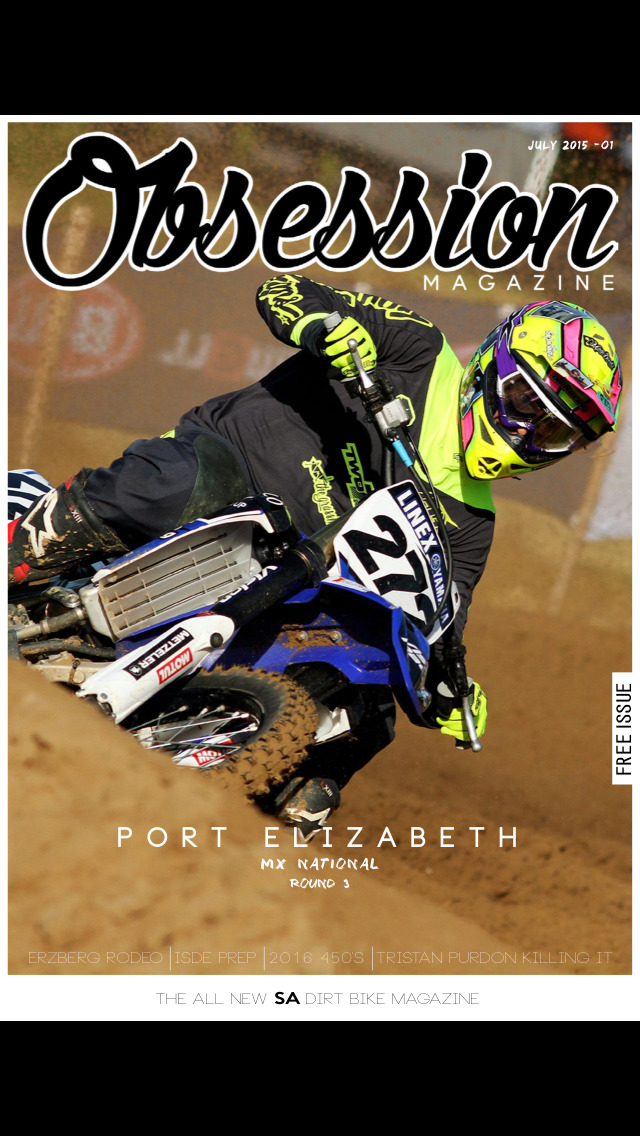 Obsession Magazine screenshot 1