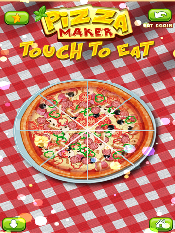 Awesome Pizza Pie Fast Food Party Restaurant Maker screenshot 6