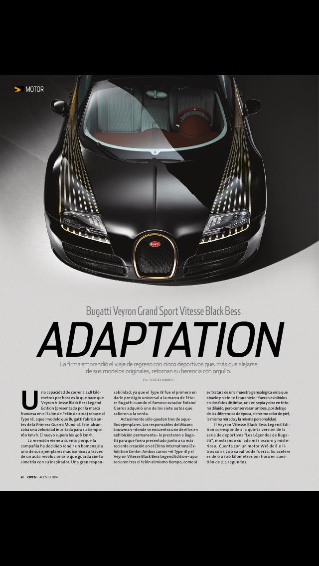 Revista OPEN screenshot 2