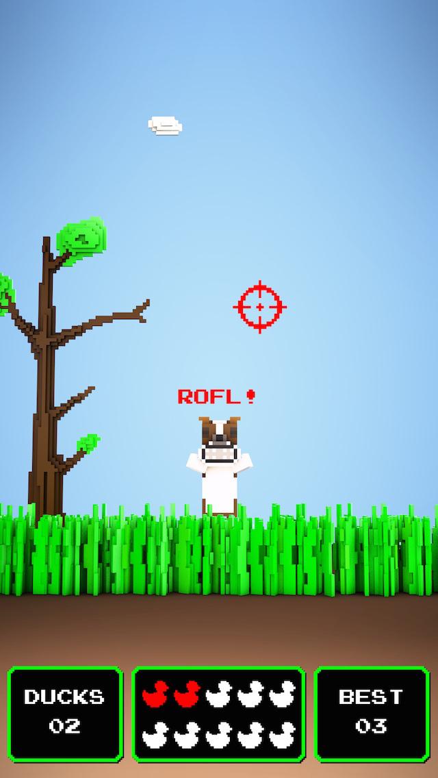 Quacky Hunt ~ it's duck kill season in this hunting sniper shot classic! screenshot 2