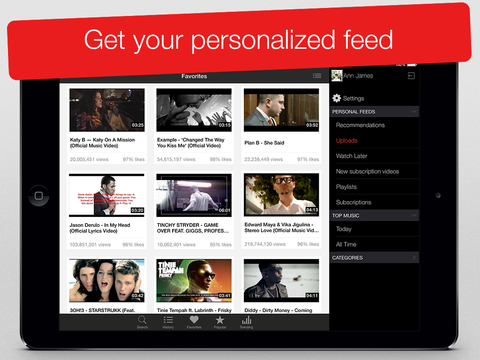 MyTube - Video Player for Youtube Clips, TV-shows and Movies Streaming screenshot 7