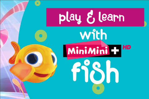 Play and learn with MiniMini fish - náhled